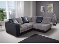 *1 year warranty*- Benson Corner Sofa Suite or 3 and 2 Set -EXPRESS DELIVERY*07424775152