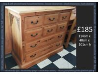 Solid Chest of drawer