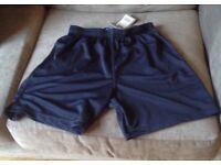 Navy Sports/Football Shorts - size 30/32
