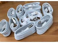 Apple iPhone usb charger cables