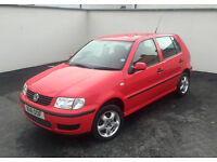 2000 VW Polo 7 months MOT, Very long service history