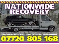 CAR RECOVERY / TRANSPORTATION / COLLECTION AND DELIVERY SERVICE