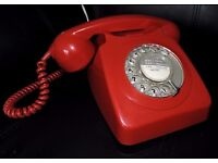 Vintage (1970's) Red Telephone £40 ONO