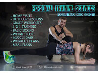 PERSONAL TRAINING at Home, Gym our Outdoor (Heathrow Area). From £30 per session