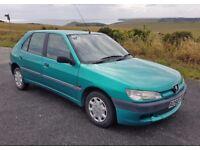 Peugeot 306 1.4L Petrol Manual 83K MOT