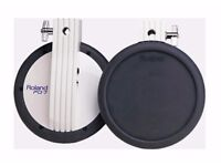 Roland PD-7 Dual Trigger - V Drums Electronic percussion pads - tom hi hat cymbal drums