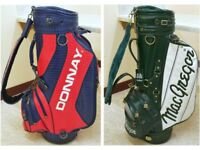 Golf Bag - Selection of 2 - Donnay 10-inch £20 / MacGregor 9-inch £5