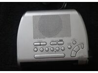 "Sony ""Dream Machine"" Clock Radio Alarm"