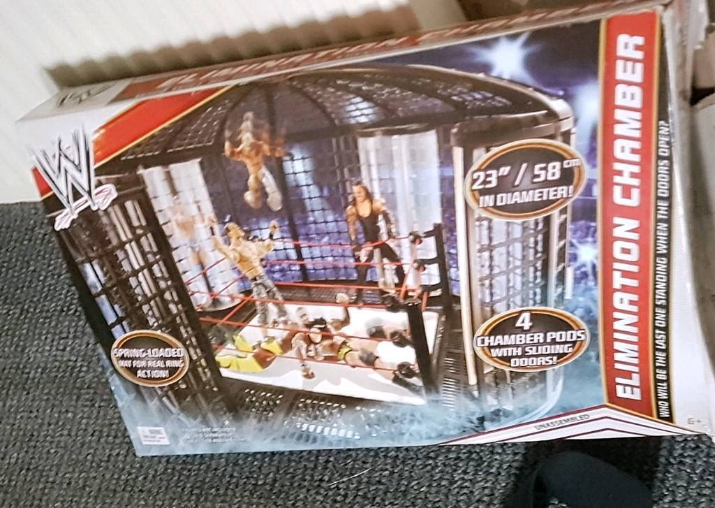 WWE Bundle elimination chamber new in box