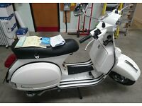 Vespa PX125 - 2016 Reg - delivery mileage only