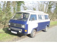 Classic VW Camper Van, ready to use or to spruce up