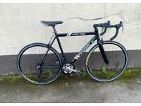 "Gents racing bike 22"" alloy frame £80"