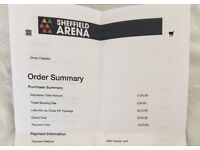 3 X Little Mix Up Close VIP Tickets on Saturday 28th October. £350