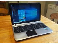 aluminium hp core i3 2.2ghz 6gb 750gb hdd dedicated graphic win7 cu