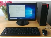 FUJITSU E420, i3-4130, 4GB RAM, 500GB HDD, Win 10 Pro + 19inch monitor