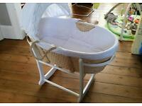 Moses Basket and Stand John Lewis