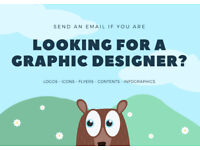 Do you need a graphic designer? Logo, flyers, brochures, contents, infographics, images and more