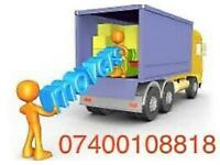 CHEAP URGENT LOCAL MAN & LUTON VAN HIRE HOUSE OFFICE BIKE PIANO MOVE RUBBISH WASTE REMOVALS SERVICES