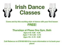 Irish Dance Classes in Bath