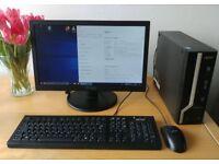 ACER X2631G, i3-4130, 4GB RAM, 500GB HDD, Win 10 Pro + 19inch monitor