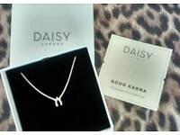 Daisy London 'Good Karma' Wishbone Necklace