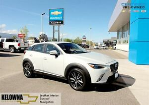 2016 Mazda CX-3 GT | Leather Interior | Sunroof | Navigation