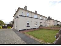 Two Bedroom Unfurnished ground floor flat in walk in condition For Rent.. Kilwinning £450 pm