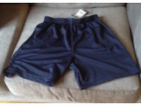 Navy Football/Sports Shorts - size 30/32