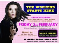 FRIDAY 2nd FEBRUARY - 60s 70s SOUL / REGGAE / MOTOWN with DOUBLE BARREL – REDFIELD