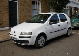 Fiat Punto 1.2 Dynamic 5dr, Low mileage 41251 miles, full service history.