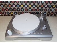ION ITTUSB Manual Belt-Drive Turntable with built-in pre-amp.
