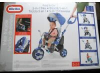 LITTLE TIKES 5 IN 1 FOLD 'N GO TRIKE BRAND NEW IN BOX