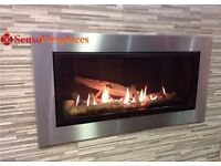 Vola 860 Gas Fire High Efficiency Chrm/Trim - Fireplaces R/Control - Free Delivery - 5 year warranty