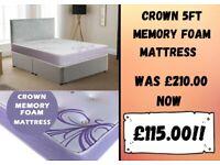 5ft Kingsize mattress