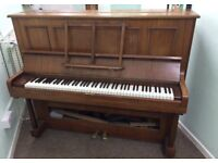 Free piano to pick up