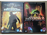 DVDs: National Treasure | National Treasure: Book of Secrets