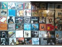 256 HIGH QUALITY CDS, LED ZEPPELIN BEATLES ACDC BOWIE MAIDEN AND MANY MORE