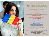 FREE ENGLISH CLASSES FOR THE ROMANIAN COMMUNITY