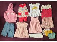 9-12 months girls bundle. M&S, next, mothercare, John Lewis and tu clothes.