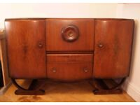 REDUCED!!! Vintage Art Deco Beautility Cocktail Sideboard