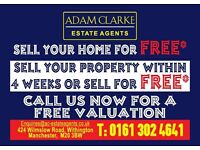 ***Special offer***Sell your property FAST or FREE- 0% Management fee For 3 Months- Adam Clarke