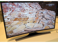 *CURVED* 40in Samsung 4k LED SMART TV -1100hz- wifi - voice ctrl- Freeview HD