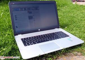 HP ENVY 17 J070CA - Core i7 4th gen 2.40 GHz - 8 GB RAM - 128 SSD + 1 TB HDD - with WARRANTY and A GRADE CONDITION