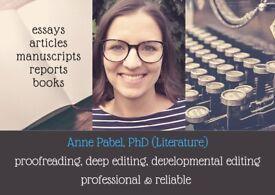 Professional Language Editing