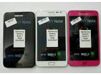 16gb Brand New Samsung Galaxy Note 1 Unlocked Open To All Networks All Colours Available