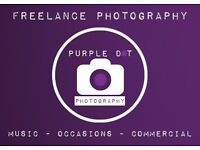 PROFESSIONAL FREELANCE PHOTOGRAPHER - Booking For WEDDINGS, COMMERCIAL, MUSIC AND SOCIAL OCCASIONS