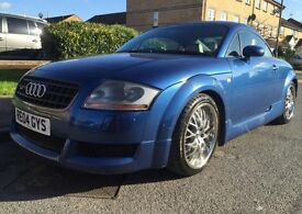 2004 AUDI TT QUATTRO ONLY 95K SOLD With 10 Months MOT 2 Prev Owners