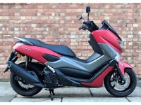 Yamaha Nmax 125cc (17 REG), As New Condition, Only 595 Miles, One owner, Yamaha warranty!