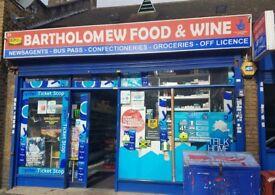 OFFLICENCE BARTHOLOMEW FOOD & WINE FOR SALE(1) , REF: RB230