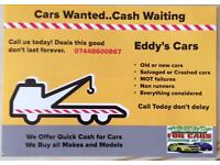 Cars and vans wanted cash waiting call today don't delay